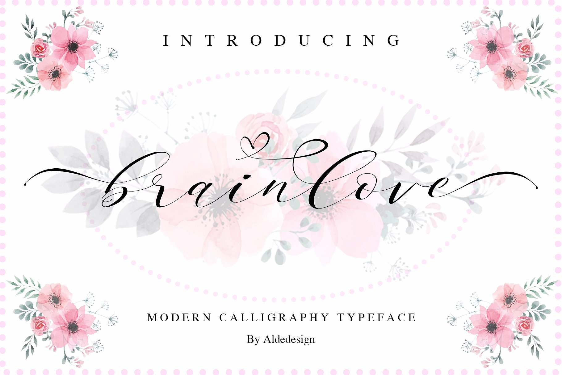 Brainlove Calligraphy