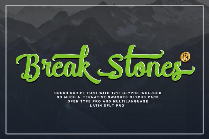 Break Stones Brush