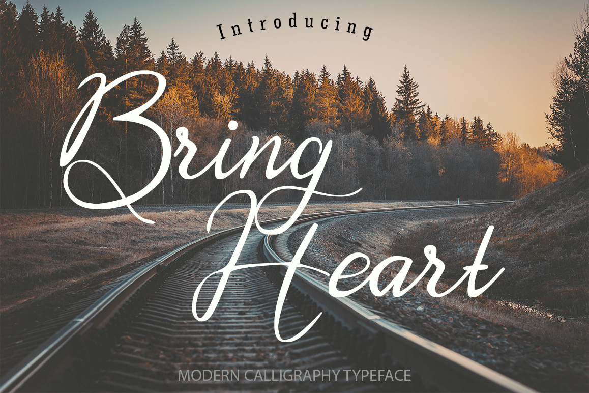 Bring Heart Calligraphy