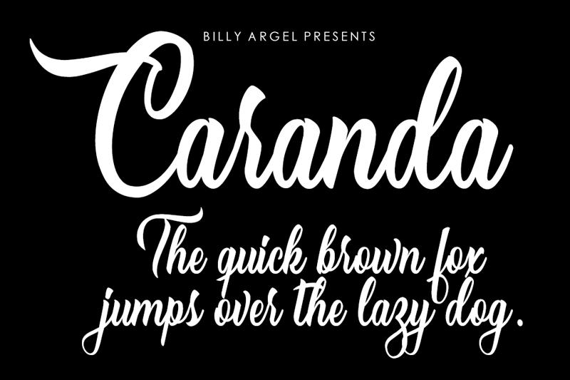 Caranda Script