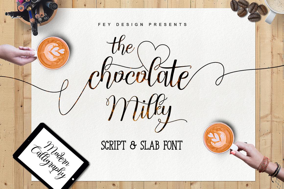Chocolate Milky Script