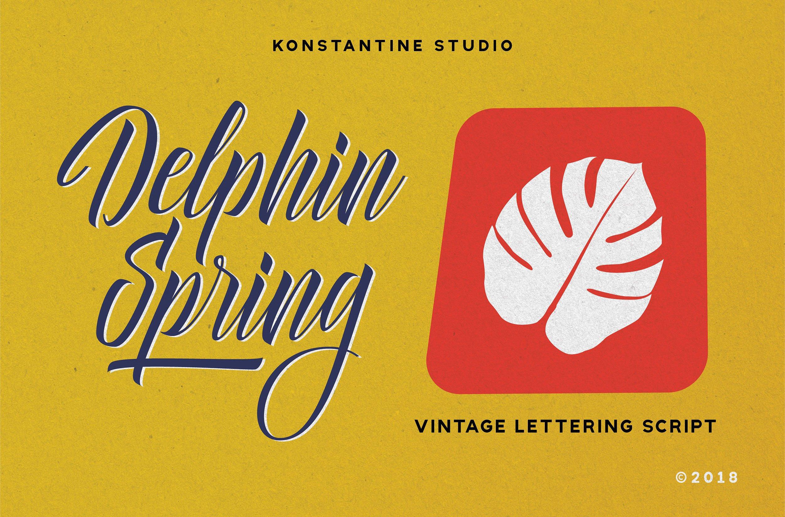 Delphin Spring Script