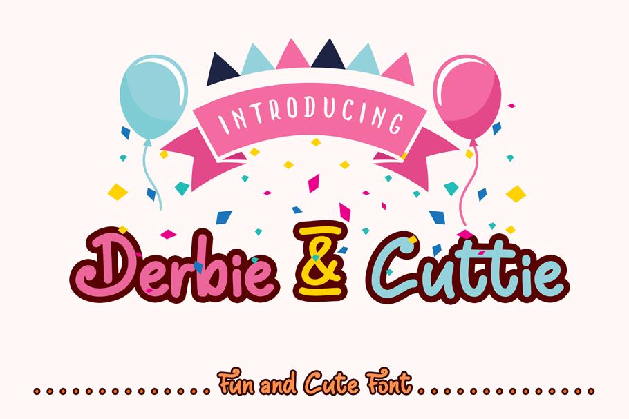 Derbie & Cuttie Script