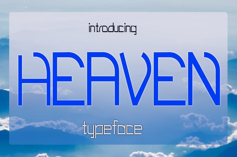 EP Heaven Typeface