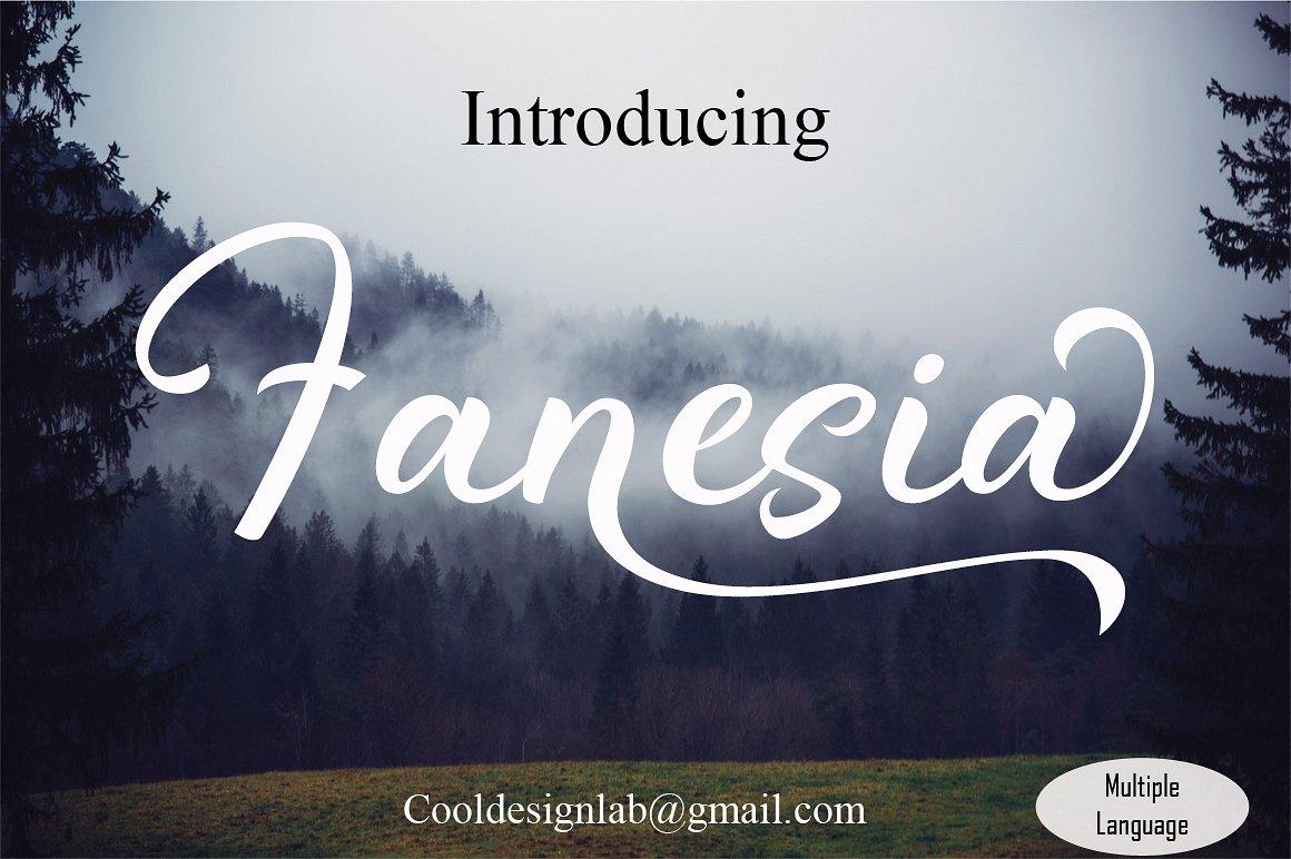 Fanesia Script