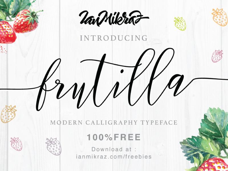 Frutilla Script