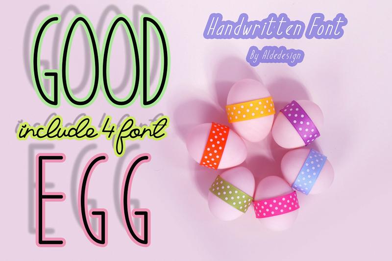 Good Egg Typeface