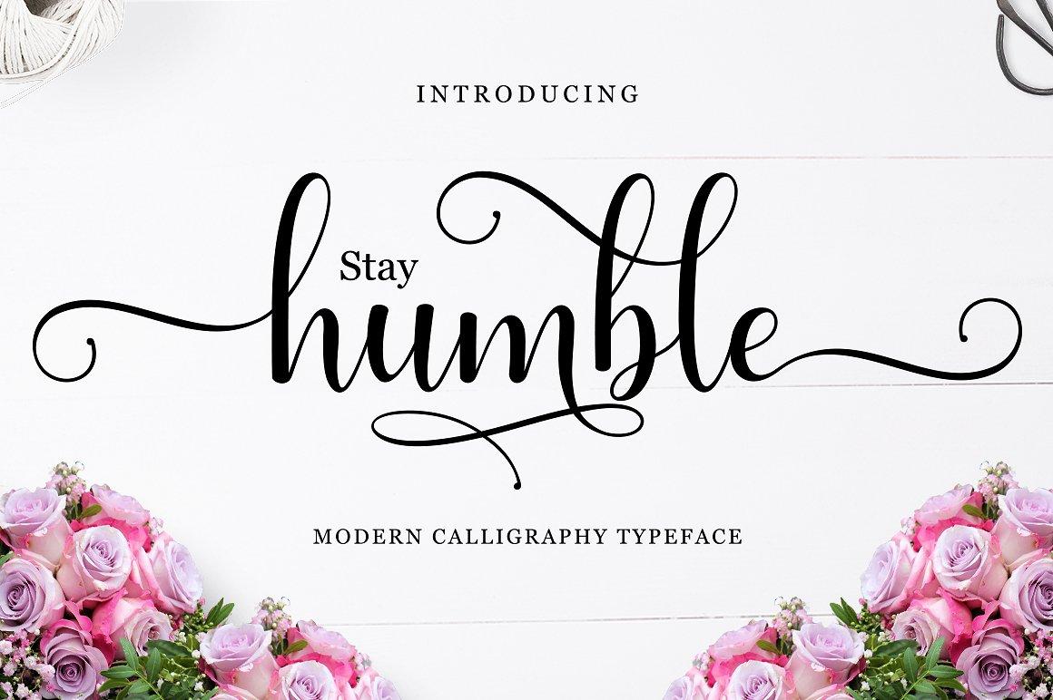 Humble Calligraphy