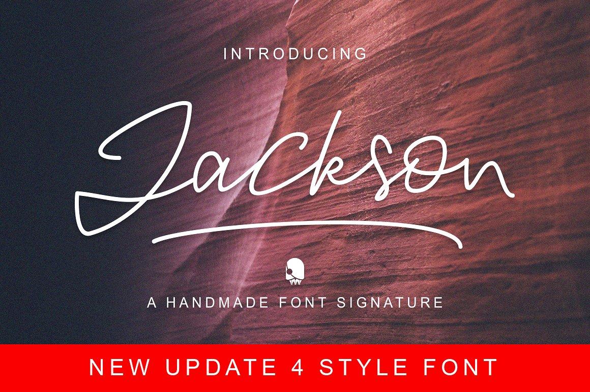 Jackson Handwriting