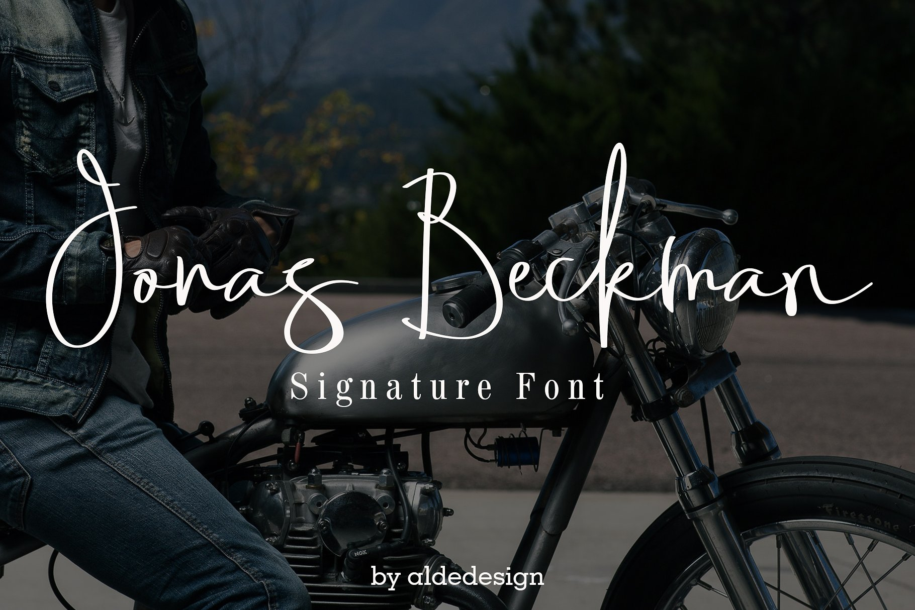 Jonas Beckman Handwriting
