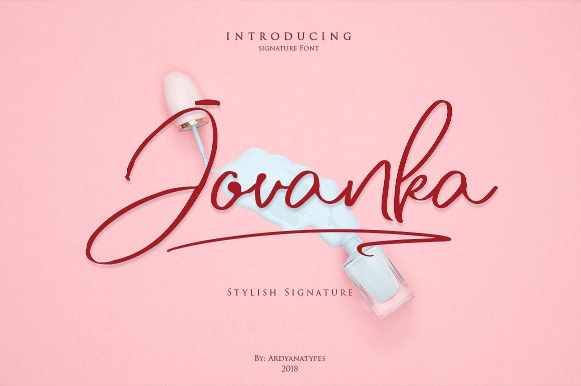 Jovanka Handwritten