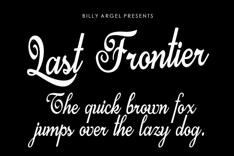 Last Frontier Script