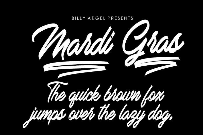 Mardi Gras Script