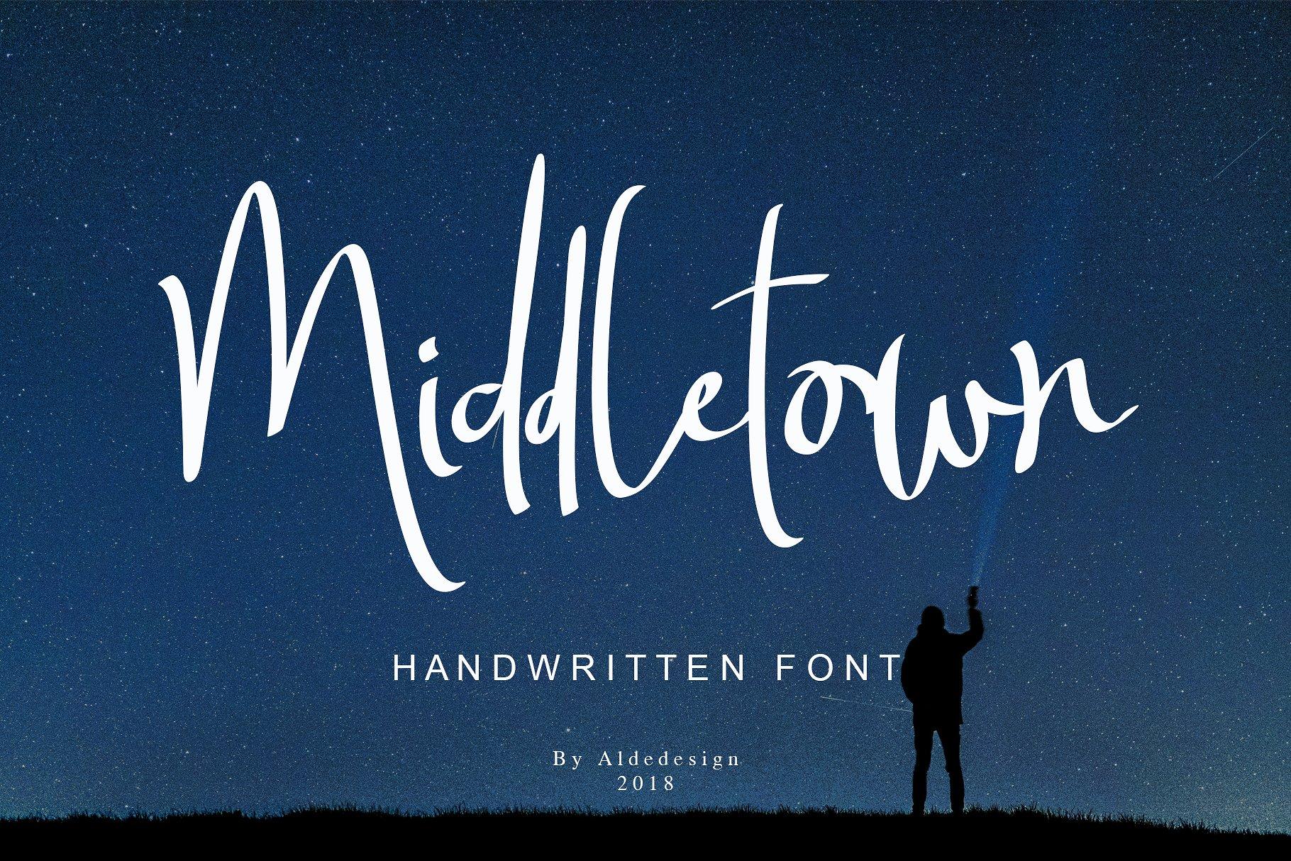 Middletown Handwriting
