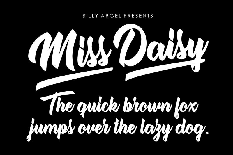 Miss Daisy Script