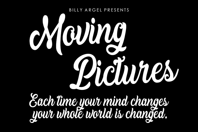 Moving Pictures Script