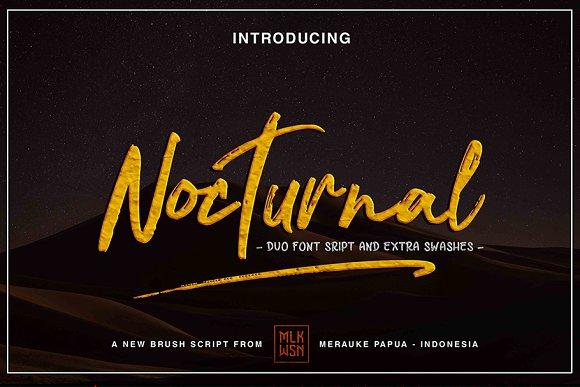 Nocturnal Script