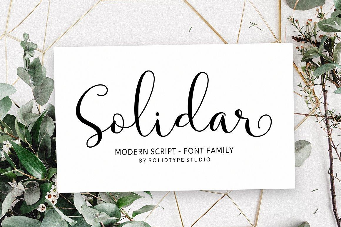 Solidar Script