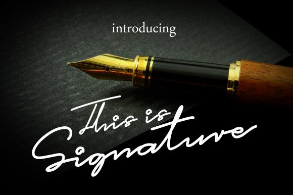 This is Signature
