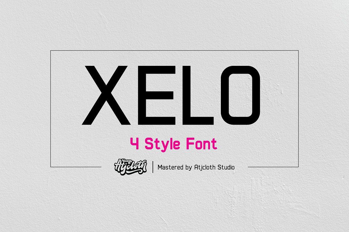 Xelo Typeface