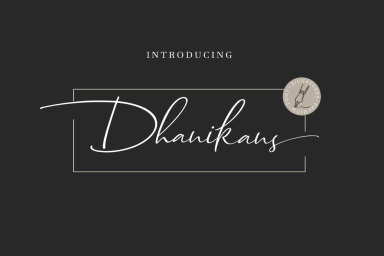 Dhanikans Handwritten