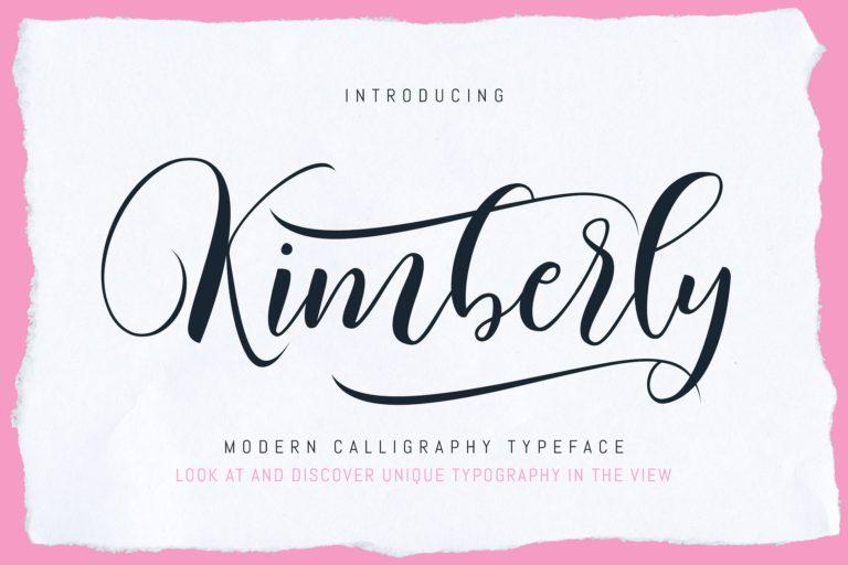 Kimberly Calligraphy
