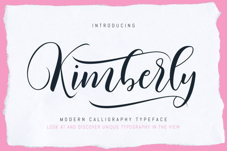 Kimberly Calligraphy