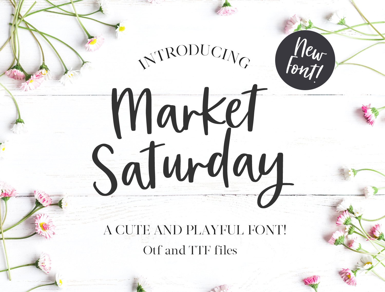 Market Saturday Script