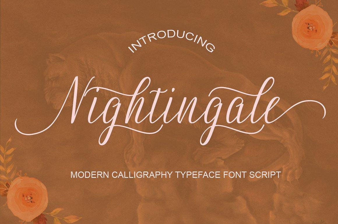 Nightingale Calligraphy
