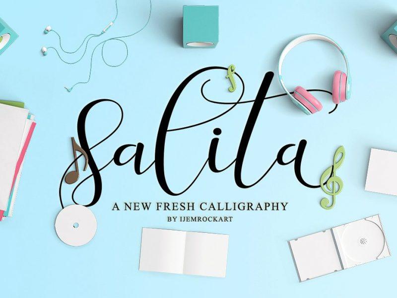 Salita Calligraphy Font