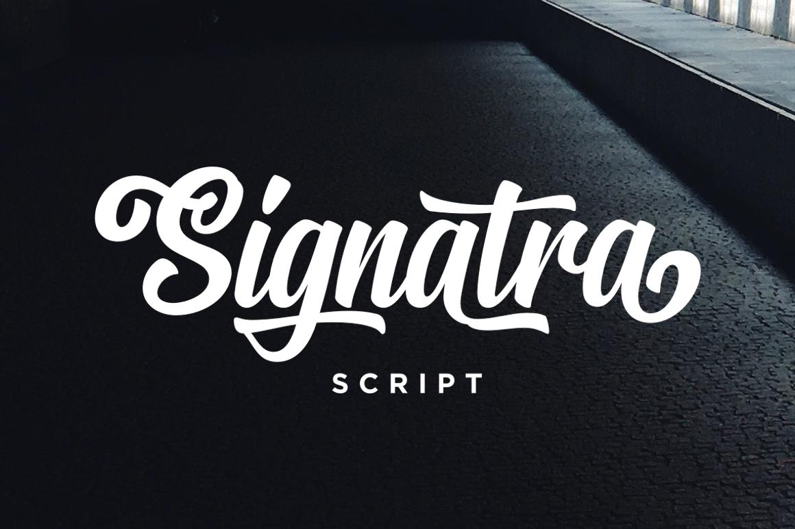 Signatra script fontlot signatra script font stopboris Image collections
