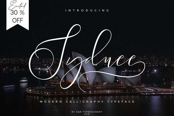 Sydnee Modern Calligraphy
