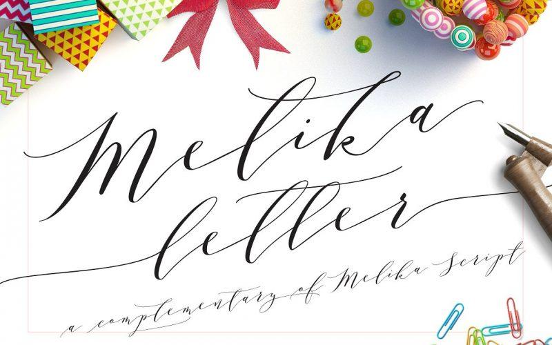 Melika Script Font   Fontlot.com
