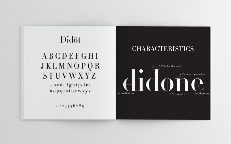 HTF Didot Font Family - Fontlot com