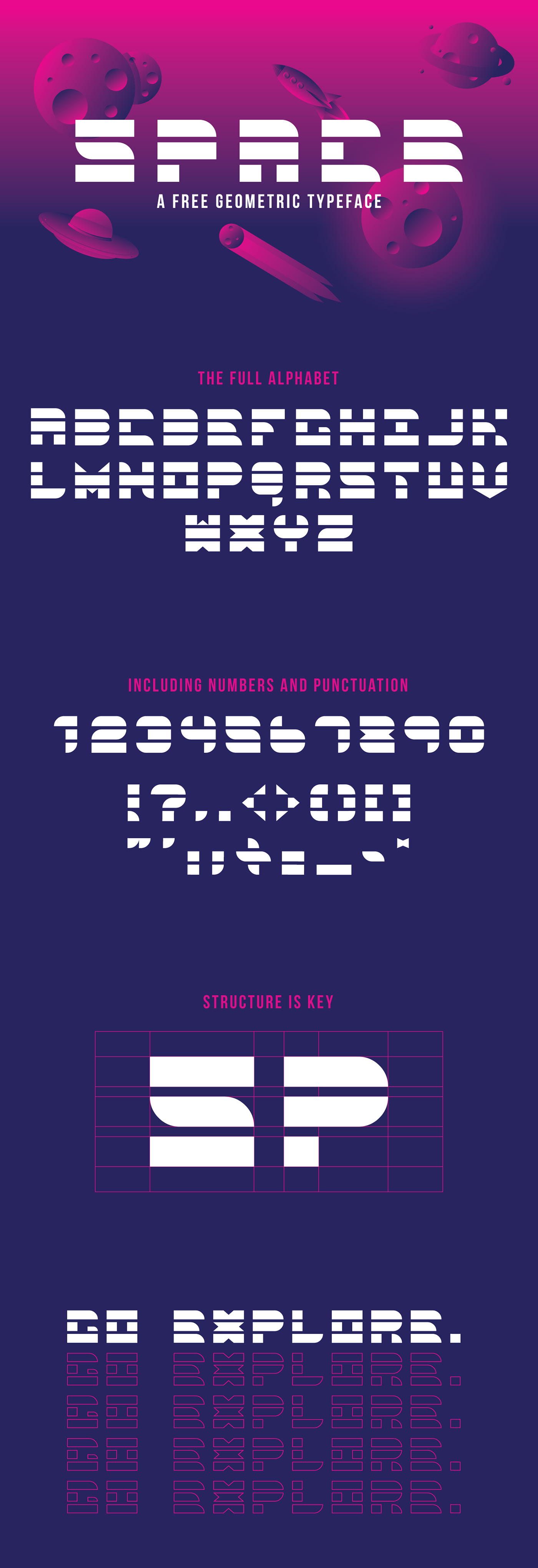 Space Typeface