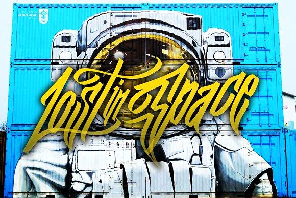 Wall Hunters Graffiti Font