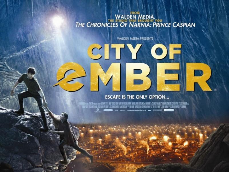 City of Ember Film Font