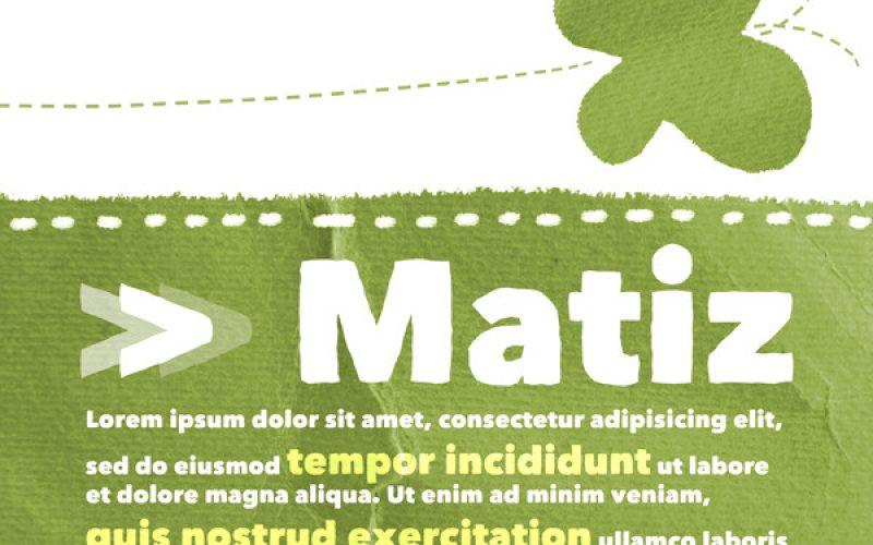 Matiz Display Font