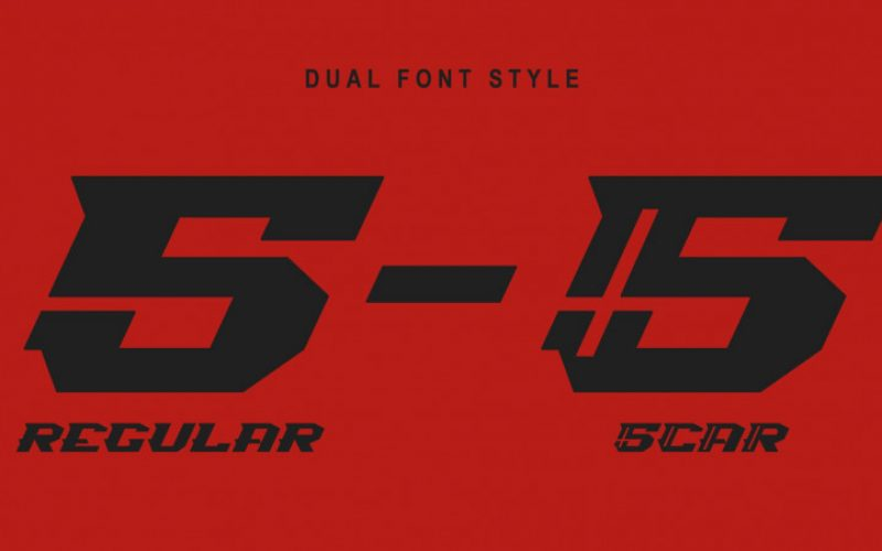 Spiky 016 Display Font Fontlot Com